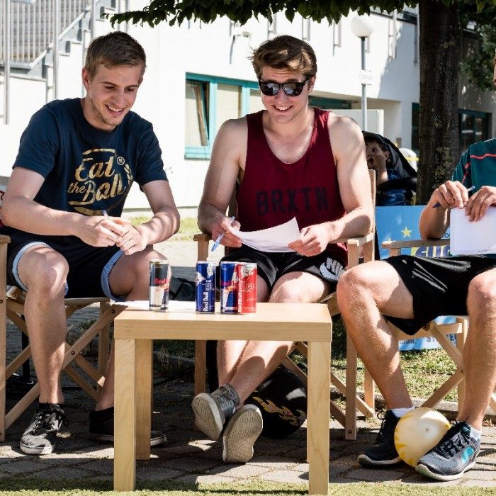 Teco7 Freestyle Fußball Rookie Cup in Wien