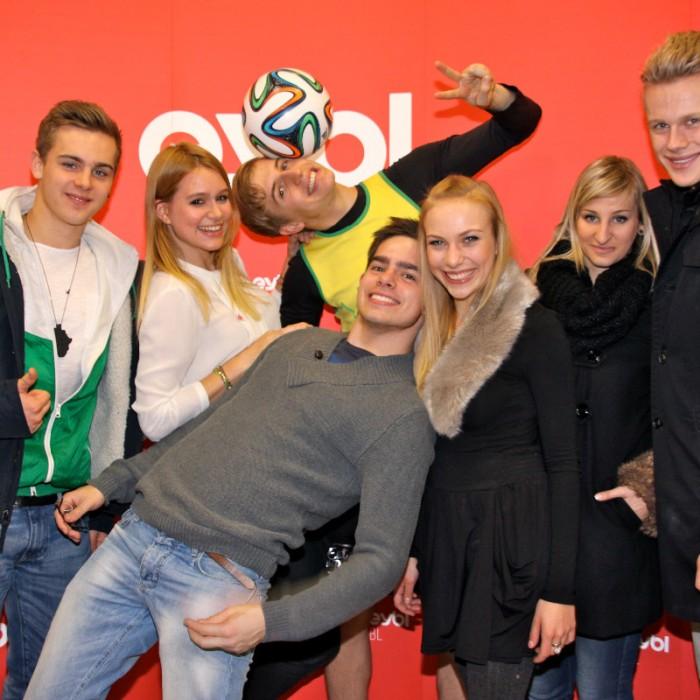 Sport Eybl WM Ball Präsentation